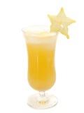 Raccolta dei cocktail - cocktail di Starfruit Fotografia Stock Libera da Diritti