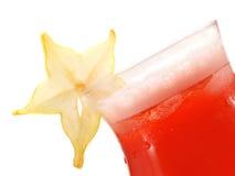 Raccolta dei cocktail - cocktail di Starfruit Fotografia Stock