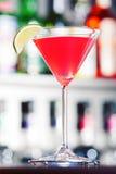 Raccolta dei cocktail - cosmopolita Fotografia Stock