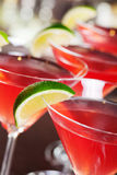 Raccolta dei cocktail - cosmopolita Fotografie Stock