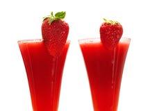 Raccolta dei cocktail - daiquiri di fragola Immagini Stock Libere da Diritti