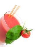 Raccolta dei cocktail - frullato del pomodoro Fotografia Stock Libera da Diritti