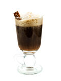 Raccolta dei cocktail - irish coffee immagini stock