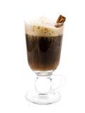 Raccolta dei cocktail - irish coffee immagini stock libere da diritti