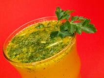 Raccolta dei cocktail - regina dei peperoncini rossi Fotografie Stock Libere da Diritti