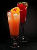 Raccolta dei cocktail - sesso sulla spiaggia e su Cherry Vodka fotografia stock