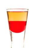 Raccolta dei cocktail - tequila rossa Fotografia Stock Libera da Diritti