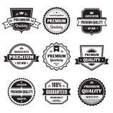 Raccolta 01 dei distintivi Immagine Stock Libera da Diritti