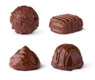 Raccolta dei dolci del cioccolato Immagini Stock Libere da Diritti
