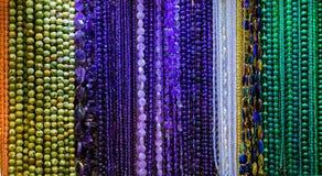 Raccolta dei gioielli della collana Fotografia Stock Libera da Diritti