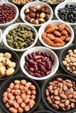 Raccolta dei legumi differenti Fotografie Stock Libere da Diritti