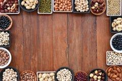 Raccolta dei legumi differenti Immagine Stock Libera da Diritti