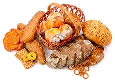 Raccolta dei prodotti del pane Immagine Stock