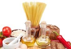 Raccolta dei prodotti naturali Immagine Stock