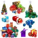 Raccolta dei regali Immagini Stock