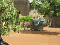Raccolta dei rifiuti di Ouagadougou Fotografia Stock Libera da Diritti