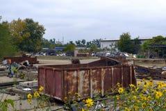 Raccolta dei rifiuti metallici Immagine Stock Libera da Diritti