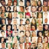 Raccolta dei ritratti Immagine Stock