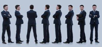 Raccolta dei ritratti integrali degli uomini d'affari Fotografia Stock