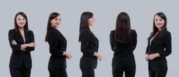 Raccolta dei ritratti integrali delle donne di affari Fotografie Stock Libere da Diritti