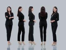 Raccolta dei ritratti integrali delle donne di affari Immagine Stock Libera da Diritti
