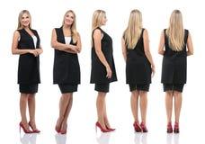 Raccolta dei ritratti integrali delle donne di affari Immagini Stock Libere da Diritti