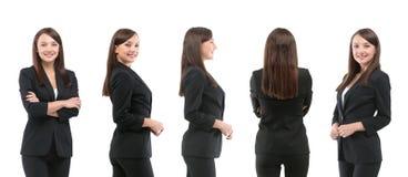 Raccolta dei ritratti integrali delle donne di affari Fotografie Stock
