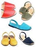 Raccolta dei sandali Immagine Stock