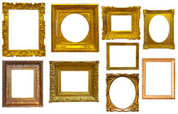 Raccolta dei telai isolati Fotografie Stock Libere da Diritti