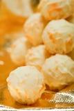 Raccolta dei truffels differenti delle praline del cioccolato Immagini Stock Libere da Diritti