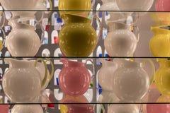 Raccolta del campione dei vetri colorati Immagine Stock Libera da Diritti