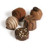 Raccolta del cioccolato fotografie stock