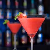 Raccolta del cocktail - daiquiri di fragola Fotografia Stock