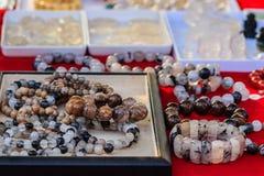 Raccolta del cristallo di quarzo del braccialetto di Pongkaam Bello bracel Fotografie Stock Libere da Diritti