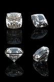 Raccolta del diamante. Pietra preziosa fotografia stock libera da diritti