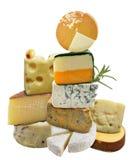 Raccolta del formaggio Fotografia Stock Libera da Diritti