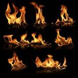 Raccolta del fuoco Immagini Stock Libere da Diritti