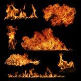 Raccolta del fuoco Immagini Stock