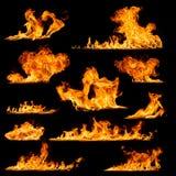Raccolta del fuoco Fotografia Stock