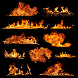 Raccolta del fuoco Fotografie Stock