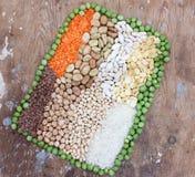 Raccolta del legume Immagine Stock Libera da Diritti