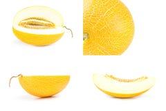 Raccolta del melone Fotografie Stock