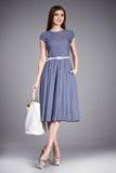 Raccolta del modello di trucco di usura dei vestiti del vestito dalla donna Immagine Stock