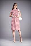 Raccolta del modello di trucco di usura dei vestiti del vestito dalla donna Fotografia Stock Libera da Diritti