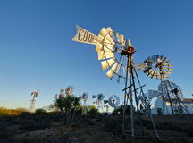 Raccolta del mulino a vento Fotografia Stock Libera da Diritti