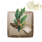 Raccolta del pacchetto del regalo di Natale Immagine Stock