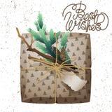Raccolta del pacchetto del regalo di Natale Immagini Stock