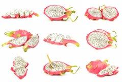 Raccolta del pitaya Immagini Stock