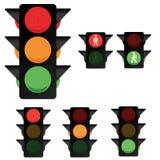 Raccolta 2 del semaforo Fotografia Stock