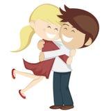 Raccolta dell'abbraccio Fotografia Stock Libera da Diritti